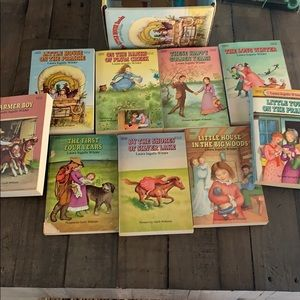 The Little House Books (9 Vol.Box set Collection )